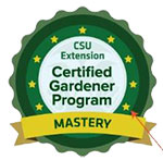 Certified Gardener badge