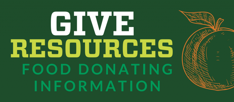 Give Resources - Link to Food Donating Information